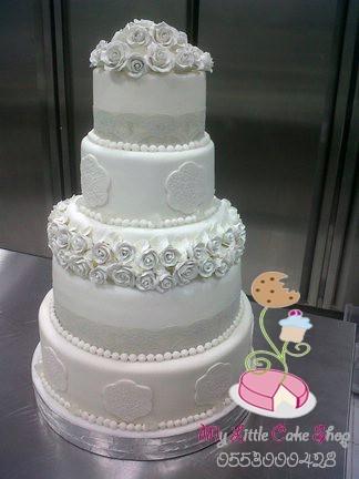 كيك زواج - My Little Cake Shop,