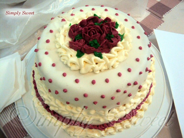 Engagement Cake - Simply Sweet,