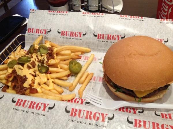 - برقي Burgy,