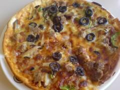 بيتزا رقيقه 2