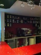 مقهى مميز داخل المطعم