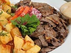 Beef Platter صحن شاورما لحم