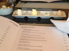 Anthurium menu