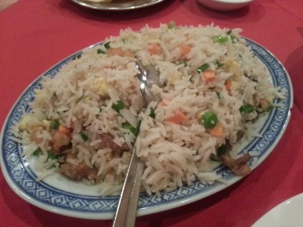 رز مقلي مشكل - مطعم ذكريات الصين Memories of China Restaurant,