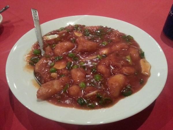 دجاج بصلصة الثوم الحاره - مطعم ذكريات الصين Memories of China Restaurant,