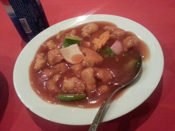 دجاج حامض حلو - مطعم ذكريات الصين Memories of China Restaurant,