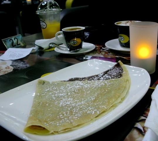 كريب نوتلا - ذا كريب كافيه The Crepe Cafe,