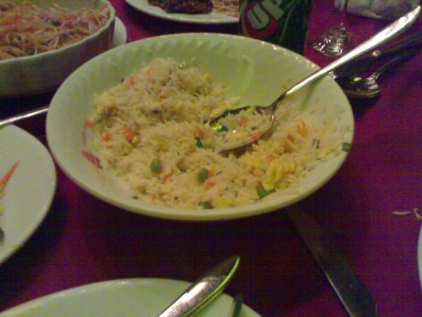 ارز مقلي - القصر الذهبي Golden Palace,