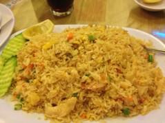 أرز مقلي