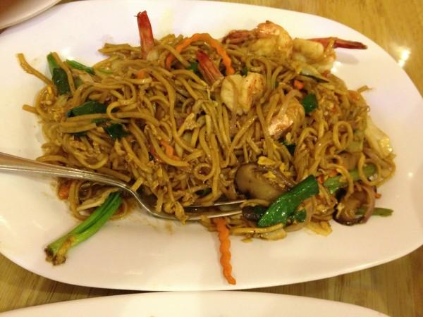 نودلز روبيان - بانكوك للأكلات البحرية Bangkok Seafood,