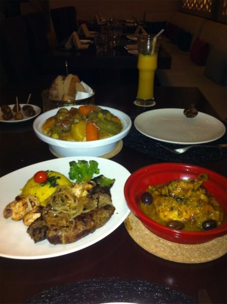 مطعم سلطانه المغربي